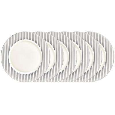 Silver Plated 10.5 in. Dinner Plate (Set of 6)
