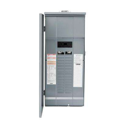 Homeline 150 Amp 30-Space 60-Circuit Outdoor Main Breaker Plug-On Neutral Load Center