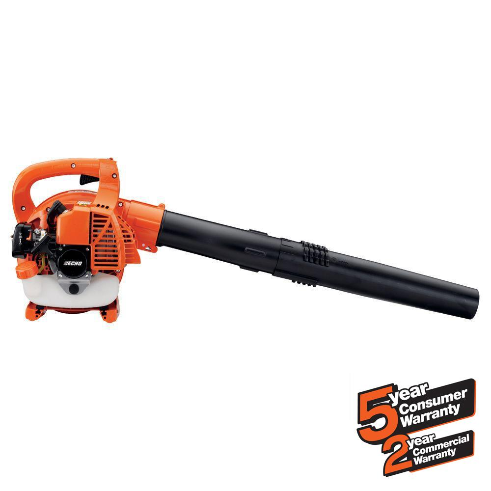 ECHO 165 MPH 391 CFM 25.4cc Gas 2-Stroke Cycle Low Noise Handheld Leaf Blower
