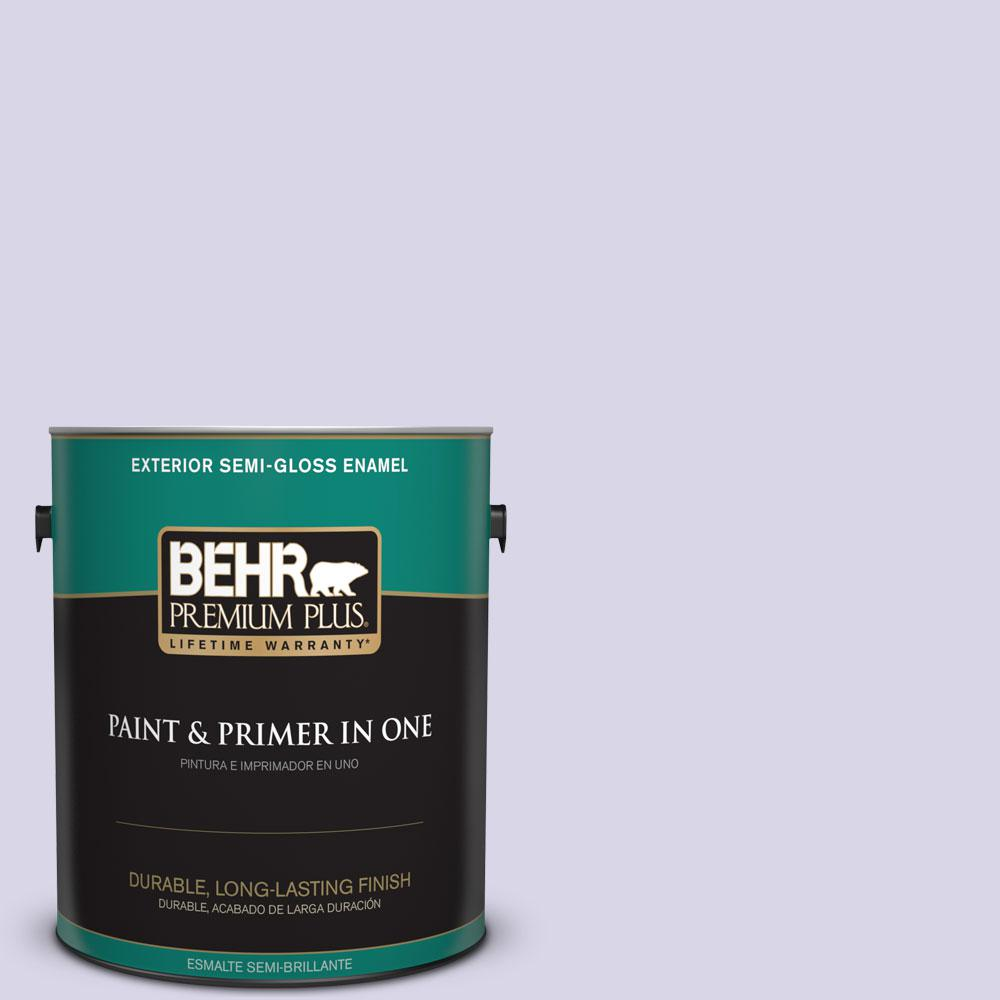 1-gal. #630A-2 February Frost Semi-Gloss Enamel Exterior Paint