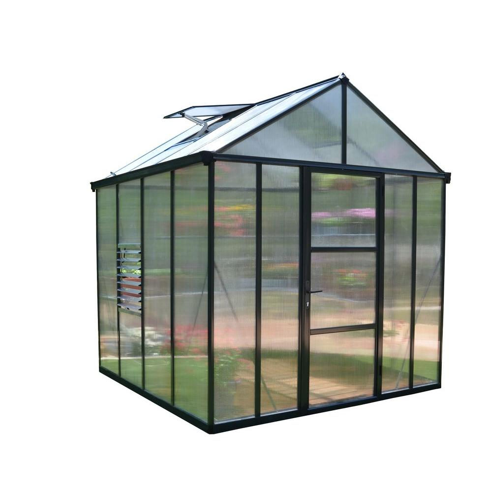Premium Class 8 ft. x 8 ft. Glory Greenhouse