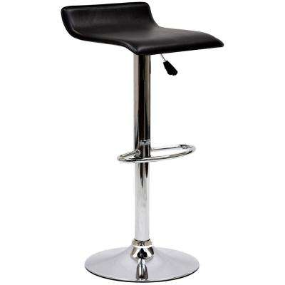 Gloria 33.5 in. Bar Stool in Black