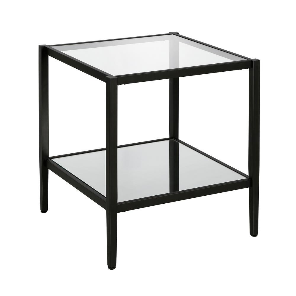Hera Side Table Blackened bronze finish