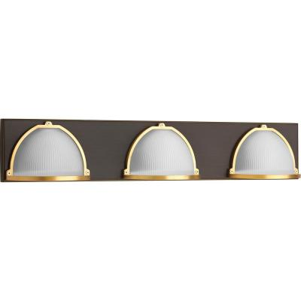 Ponder Collection 9-Watt Antique Bronze Integrated LED Bath Light