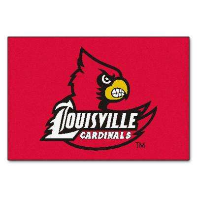 University of Louisville 19 in. x 30 in. Accent Rug