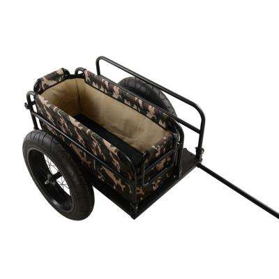 EV Bicycle Cargo Trailer with Camoflauge Cover