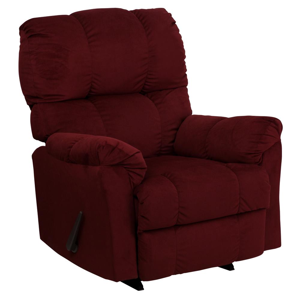 This Review Is From:Contemporary Top Hat Berry Microfiber Rocker Recliner