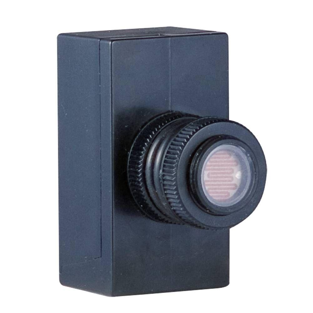 Bell Outdoor Post Lights: Hampton Bay Photocell For Dusk-to-Dawn Outdoor Lantern