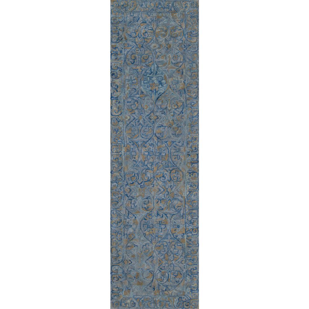 Delhi Blue 2 ft. 3 in. x 8 ft. Indoor Runner