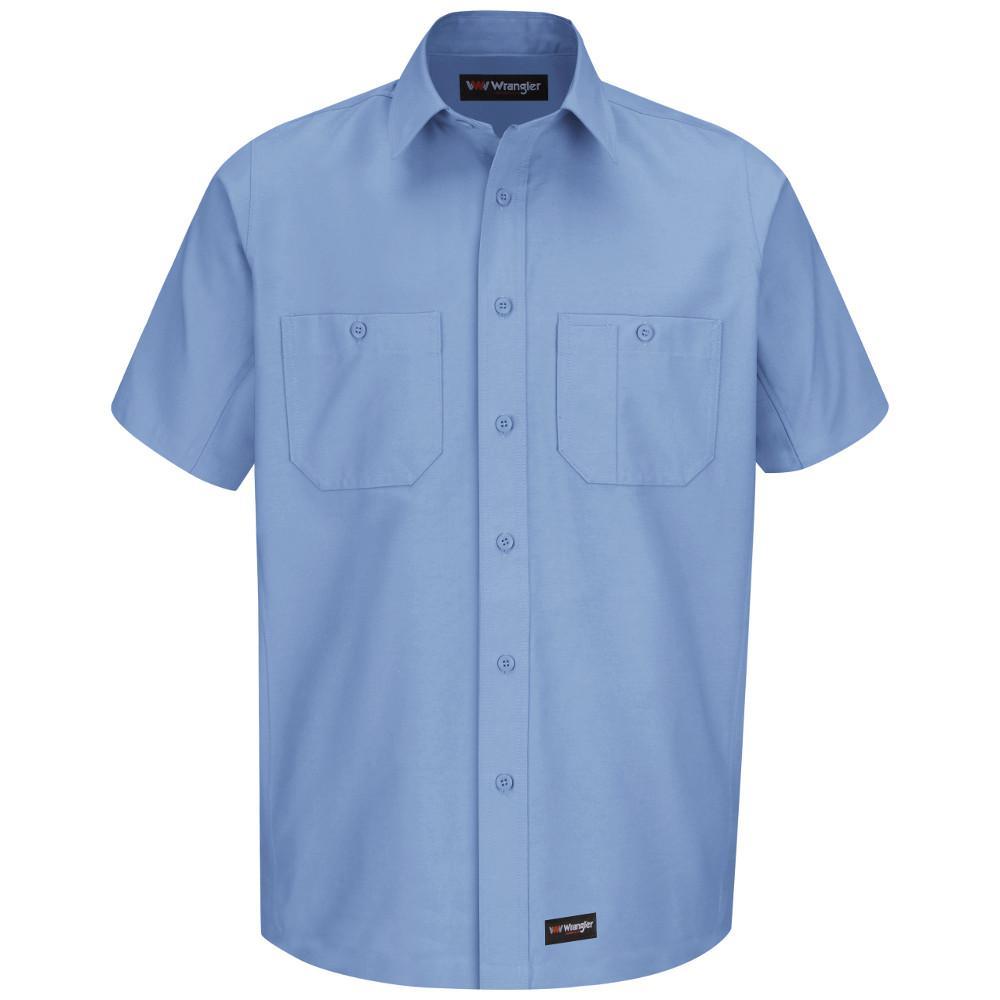 b57fcfe8d5c Wrangler Workwear Men s Size 2XL (Tall) Khaki Work Shirt-WS20KH SSL ...