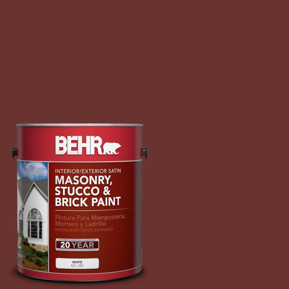 1 gal. #BXC-69 Cimarron Satin Interior/Exterior Masonry, Stucco and Brick Paint