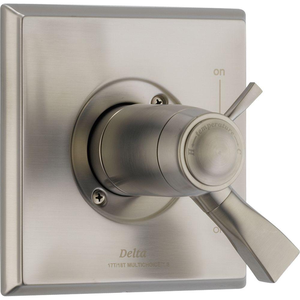 dryden tempassure 17t series 1handle control valve trim kit only in - Delta Dryden