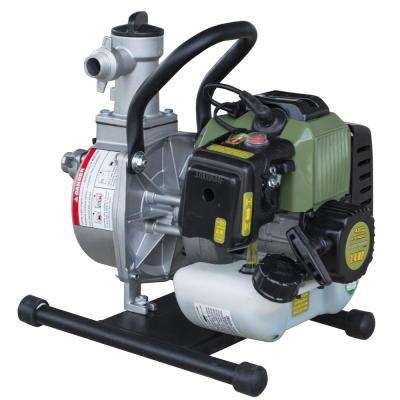 1.4 HP 1 in. 2-Cycle Gas Powered Water Transfer Utility Pump with 3/4 in. Garden Hose Adapter