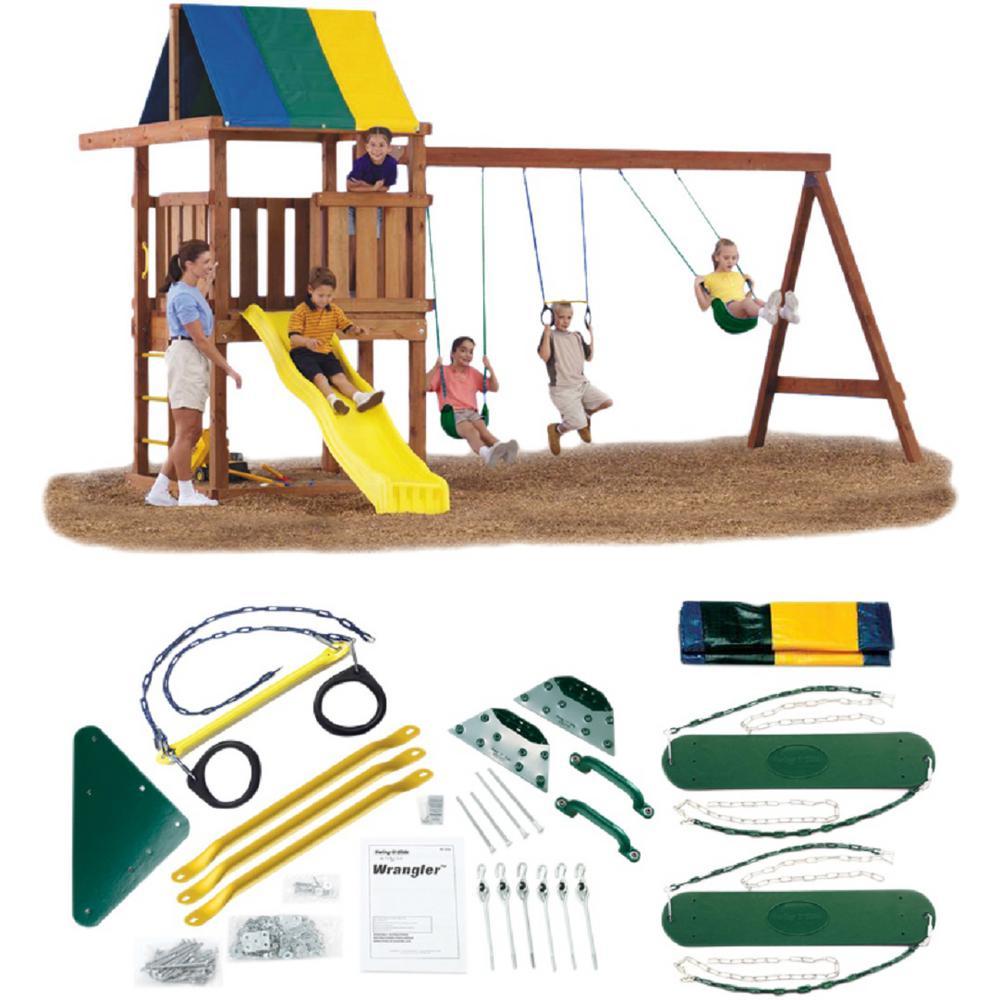 Swing-N-Slide Playsets Do-It-Yourself Wrangler Custom Playset