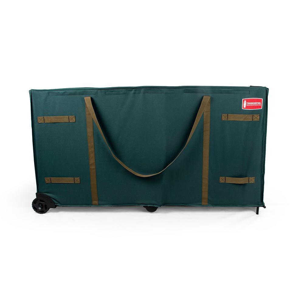 treekeeper greenskeeper oversize rolling tree storage bag - Rolling Christmas Tree Storage Bag