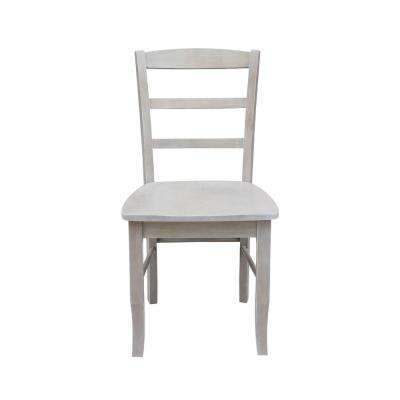 Madrid Weathered Gray Dining Chair (Set Of 2)