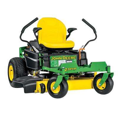 John Deere Lawn Mowers For Sale >> Z345m 42 In 22 Hp Gas Dual Hydrostatic Zero Turn Riding Mower