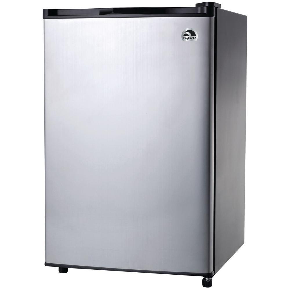 Igloo 3 2 Cu Ft Mini Refrigerator In Platinum Fr321i P