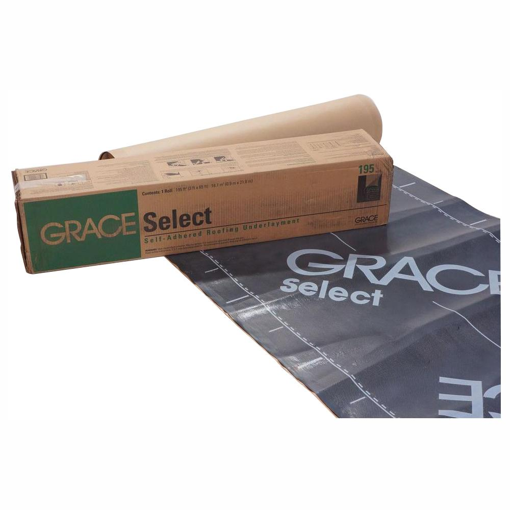 GCP Applied Technologies Grace Select 36 in. x 65 ft. Roll Roofing Underlayment (195 sq. ft.)