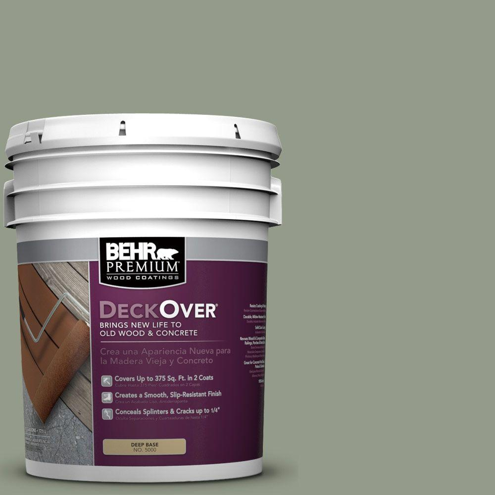 behr premium deckover 5 gal sc 143 harbor gray wood and concrete coating 500005 the home depot. Black Bedroom Furniture Sets. Home Design Ideas