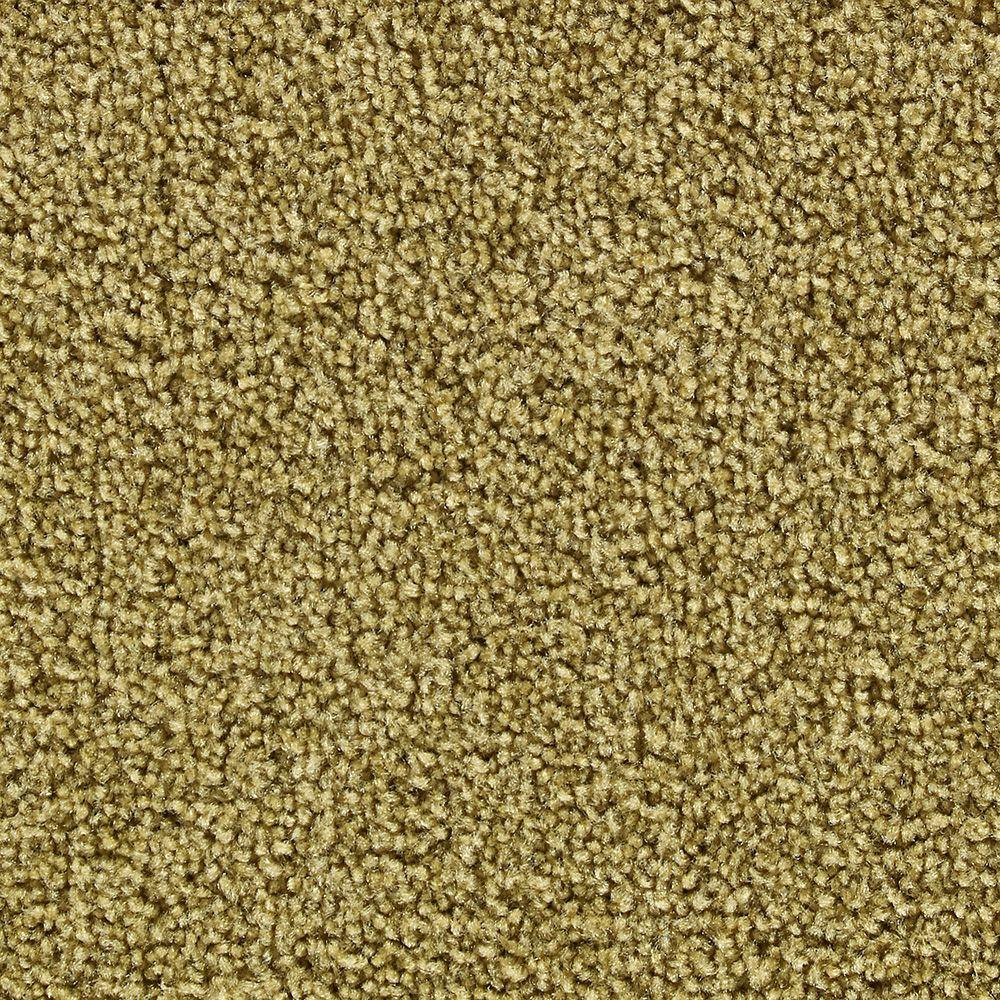 Martha Stewart Living Brycemoor Dried Chamomile - 6 in. x 9 in. Take Home Carpet Sample-DISCONTINUED