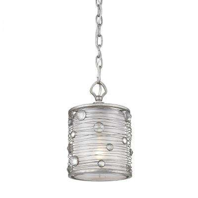 Joia Collection 1-Light Peruvian Silver Mini Pendant