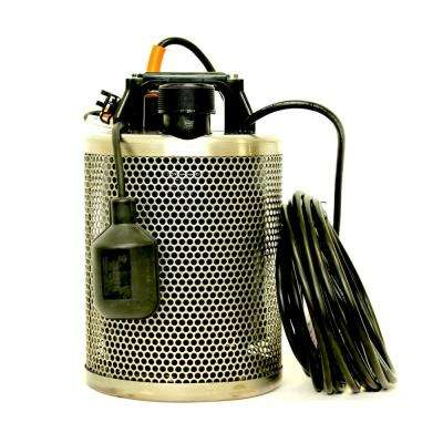 1 HP Submersible Dewatering Utility Pump for Basements, Pools and Ponds, Construction Projects and General De-Watering