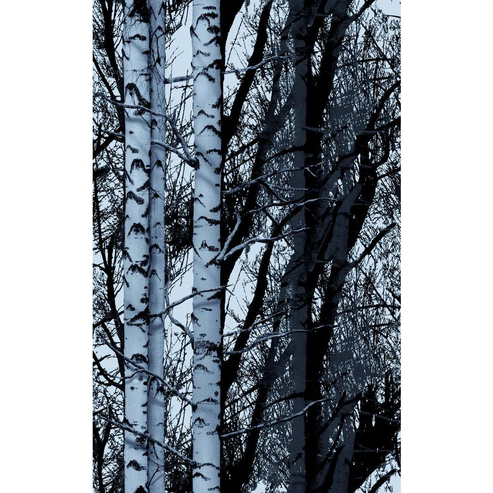DCFix Wood 26 in x 59 in Home Decor Premium Static Cling Window