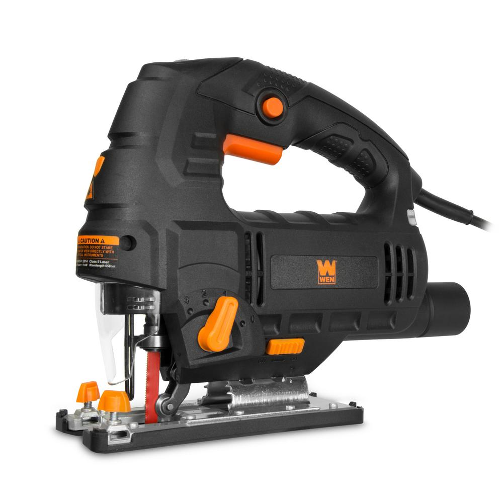 Wen 66 amp variable speed orbital jigsaw with laser wen 66 amp variable speed orbital jigsaw with laser greentooth Choice Image