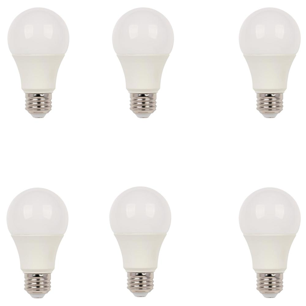 Westinghouse 40W Equivalent Bright White Omni A19 Dimmable ENERGY STAR LED Light Bulb (6-Pack)