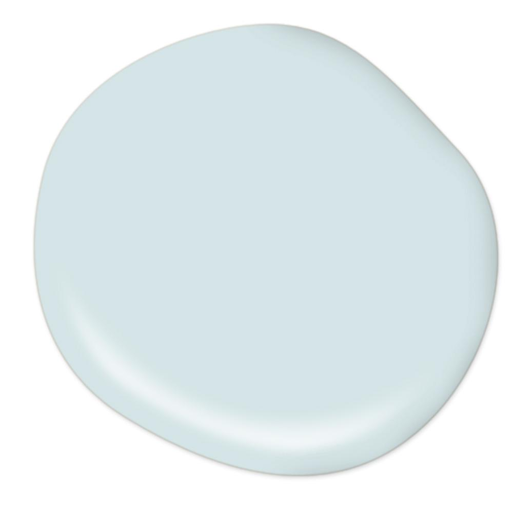 Behr Spa Retreat paint color. #behr #lightbluepaintcolor #sparetreat