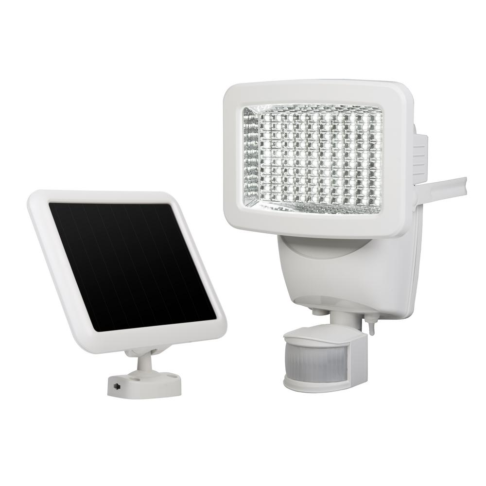Sunforce outdoor security lighting outdoor lighting the home depot 100 led solar motion light aloadofball Images