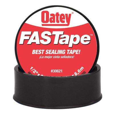 Fastape 1 2 In X 260 In Thread Sealing Ptfe Plumber S Tape 306212 The Home Depot