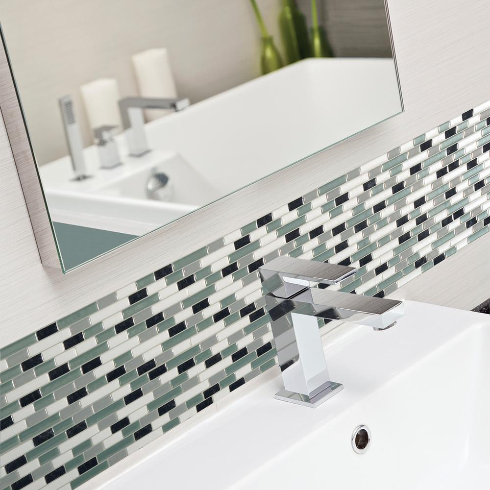 Smart Tiles Muretto Prairies In X In Mosaic