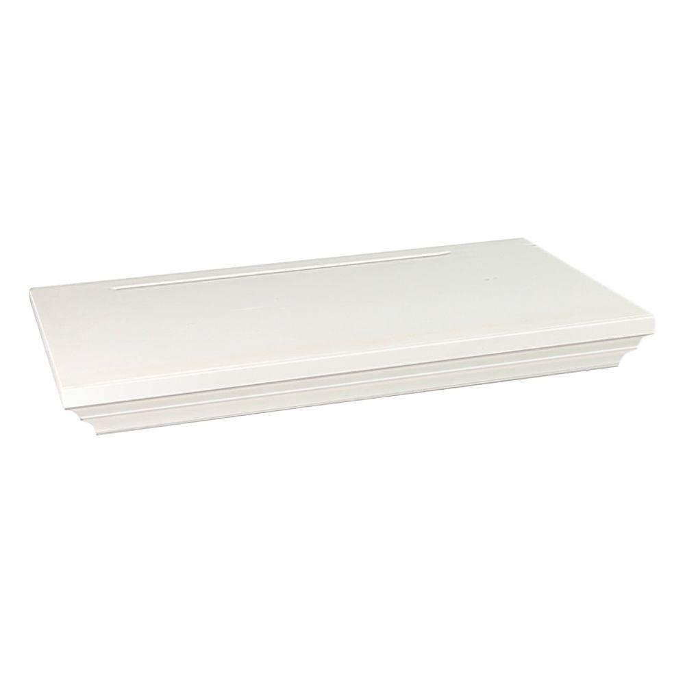 Wallscapes Woodridge 8 in. x 1-3/4 in. Floating Shelf Kit (Price Varies By Finish/Length)
