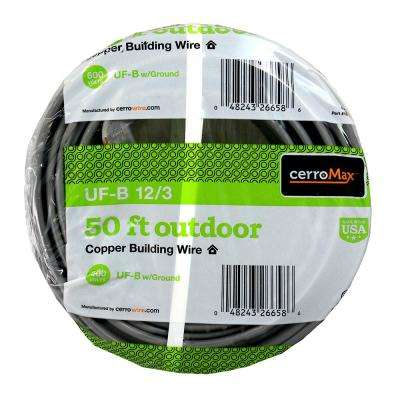 50 ft. 12/3 UF-B Wire