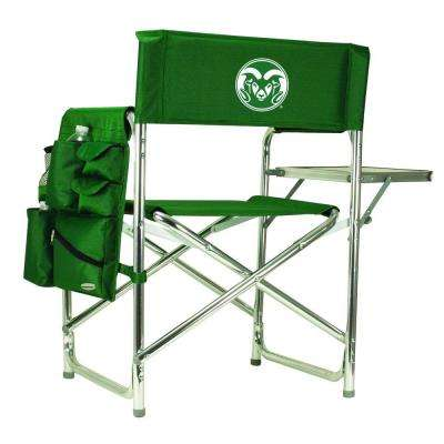 Colorado State University Hunter Green Sports Chair with Embroidered Logo