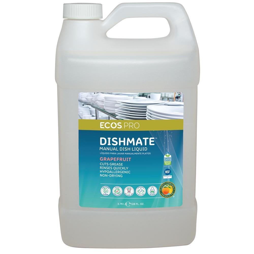 128 oz. Grapefruit Dishmate Manual Dishwashing Liquid
