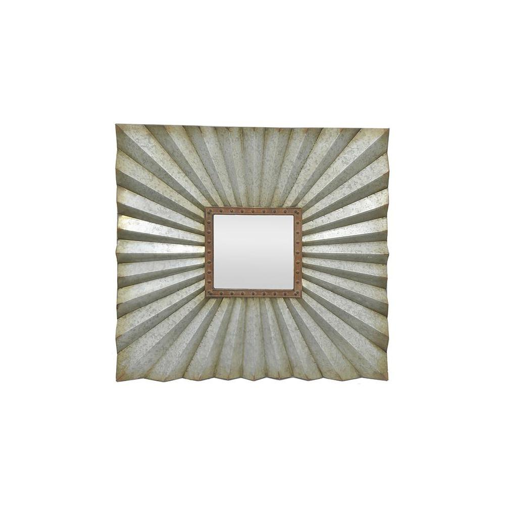 Home Decorators Collection Douglas Grey Framed Wall Mirror
