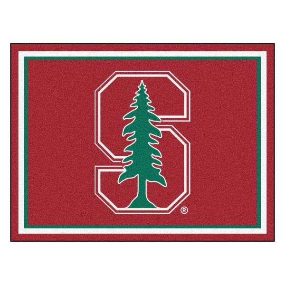 NCAA Stanford University Red 8 ft. x 10 ft. Indoor Area Rug