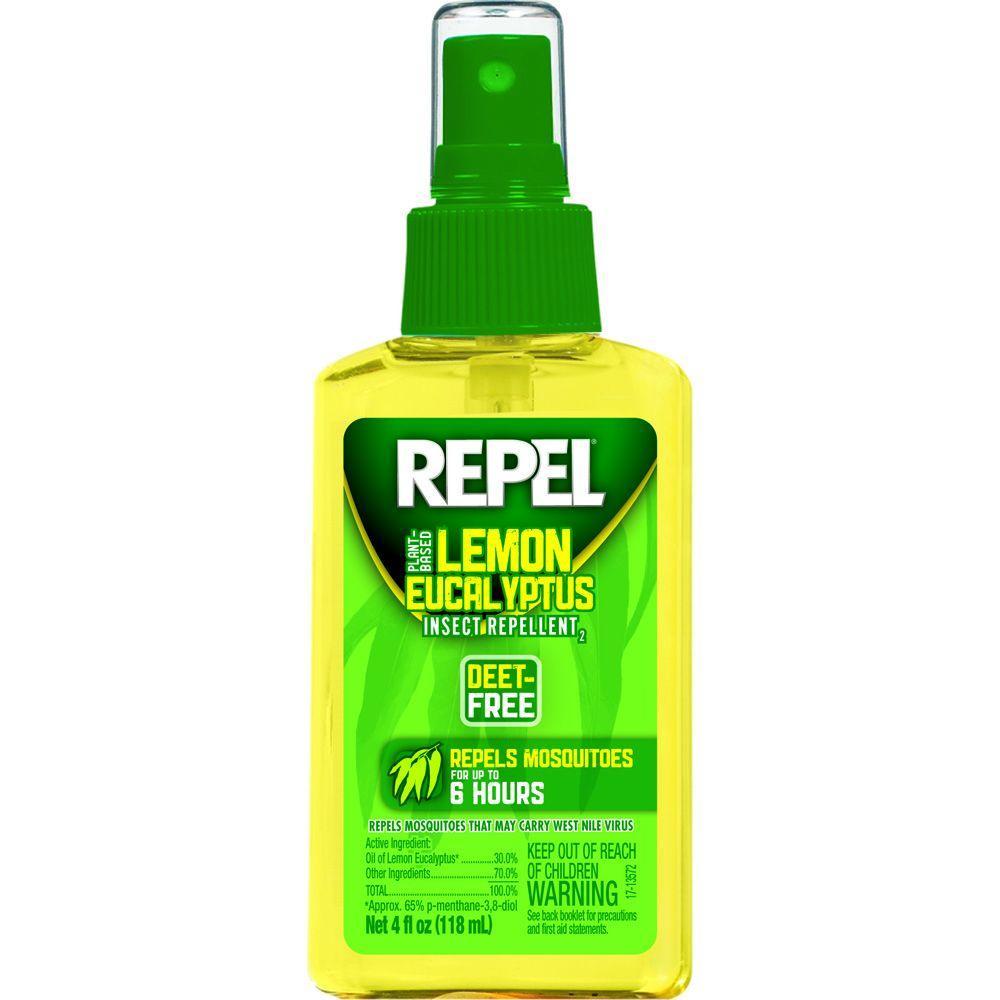 4 oz. Lemon Eucalyptus Insect Repellent Pump