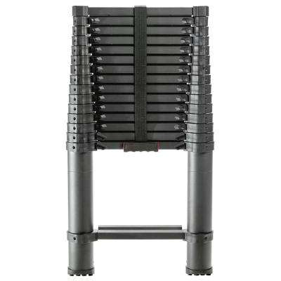 15.5 ft. Aluminum Telescoping Extension Ladder with 250 lbs. Load Capacity Type I Duty Rating