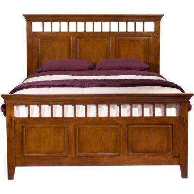Sadona Mission Oak Full Bed
