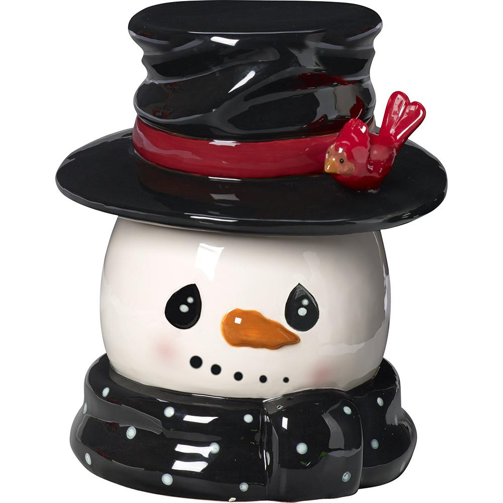 10 in. Snowman Cookie Jar