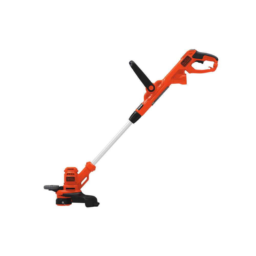 Black Decker 14 In 6 5 Amp Corded Electric String Trimmer Beste620 The Home Depot