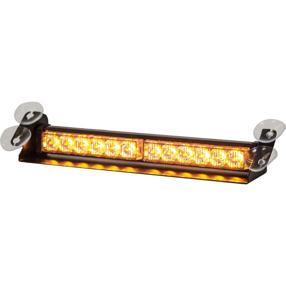 LED Dashboard Mount Strobe Light Bar