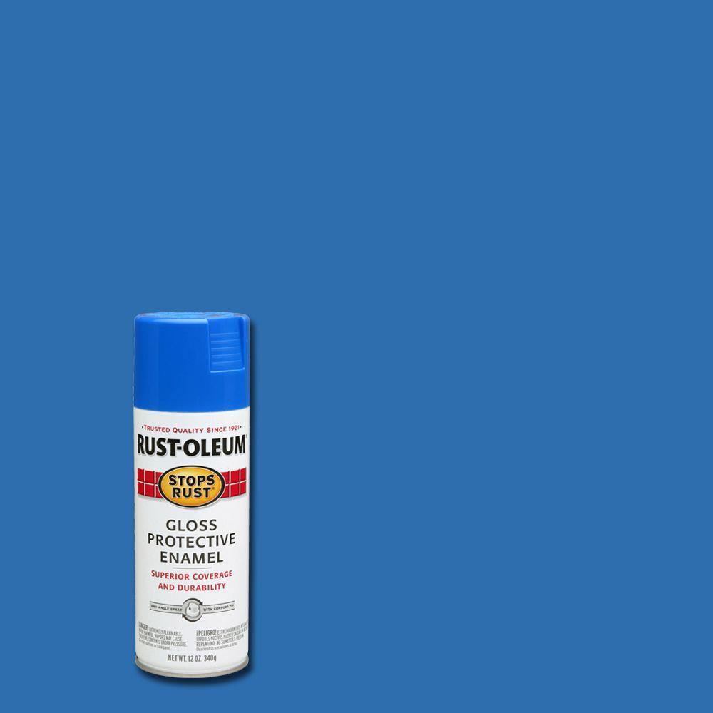 12 oz. Protective Enamel Gloss Sail Blue Spray Paint