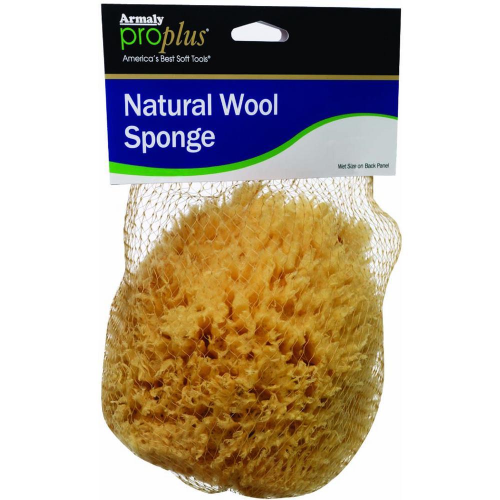 9 in. Wool Sea Sponge (Case of 6)