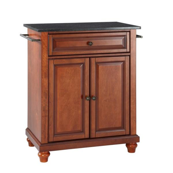 Crosley Furniture Cambridge Cherry Kitchen Island With Granite Top Kf30024dch The Home Depot,Chocolate Brown Caramel Light Brown Hair Color For Morena