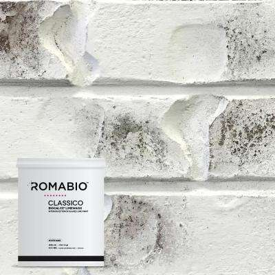 1-qt. Bianco White Limewash Interior/Exterior Paint